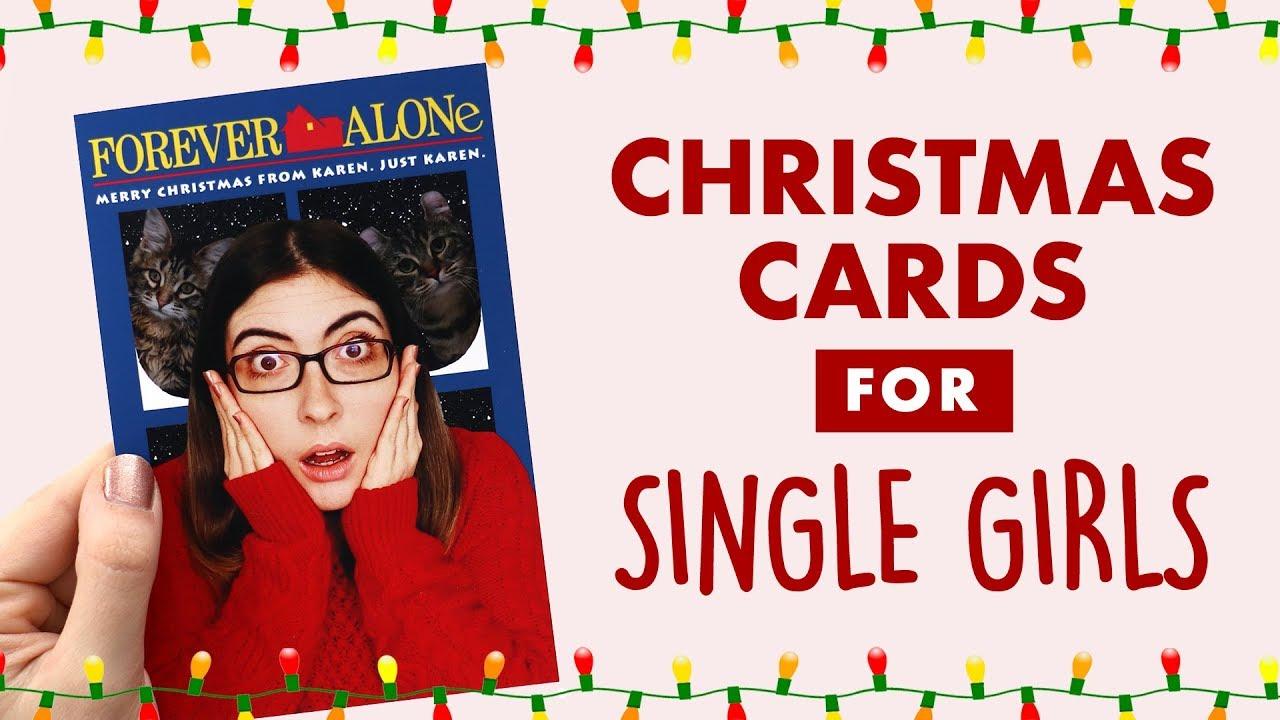 5 Single Christmas Card Ideas