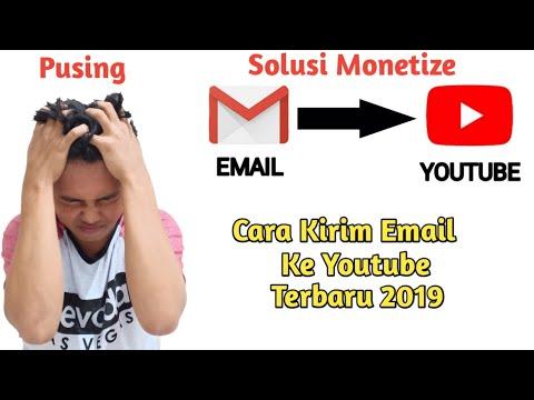 Cara Mengirim Email Ke Youtube - Terbaru 2019