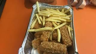 Dinner at albaik Saudi Arabia fast food