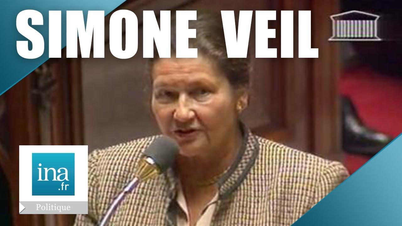 Simone Veil violente passe d\u0027armes à l\u0027Assemblée Nationale