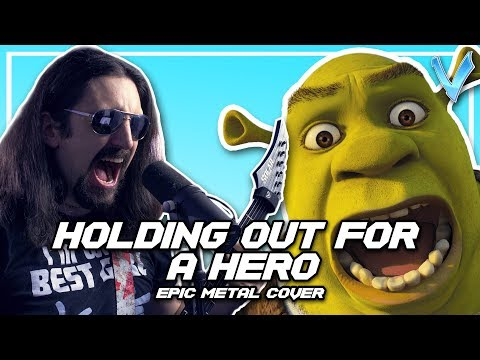 Holding Out For A Hero (Bonnie Tyler) [EPIC METAL COVER] (Little V)