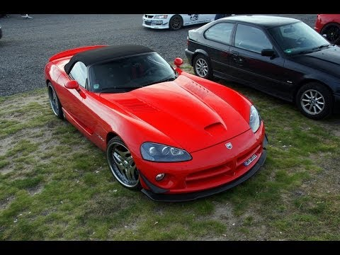 best dodge viper exhaust sounds in the world youtube. Black Bedroom Furniture Sets. Home Design Ideas