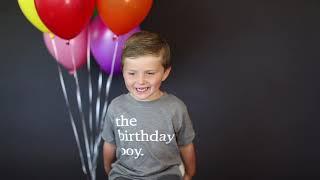 Benson 4th Birthday Film 2021
