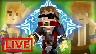 ECLIPSE MAGIC! - Minecraft FAIRY TAIL ORIGINS LIVE! #16.5 (Modded Minecraft )