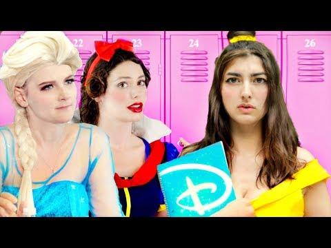 Disney Princess Last Day Of School!