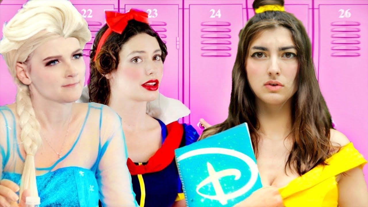 disney princess day of school