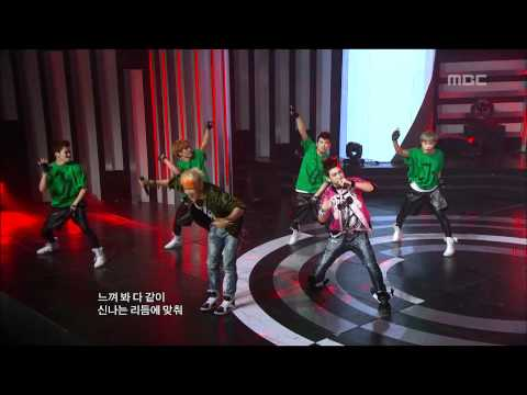JJ Project - Bounce, JJ 프로젝트 - 바운스, Music Core 20120526