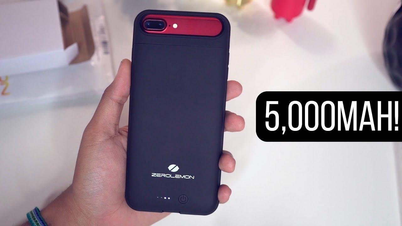 more photos e84fc c1119 ZeroLemon Battery Case for iPhone 7 Plus! (5,000mAh)