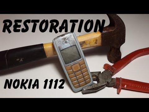 Восстанавливаем Nokia 1112 подручными средствами сами. Restoration Old Phone
