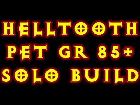 Diablo 3 Helltooth Pet GR 85+ Solo Build!