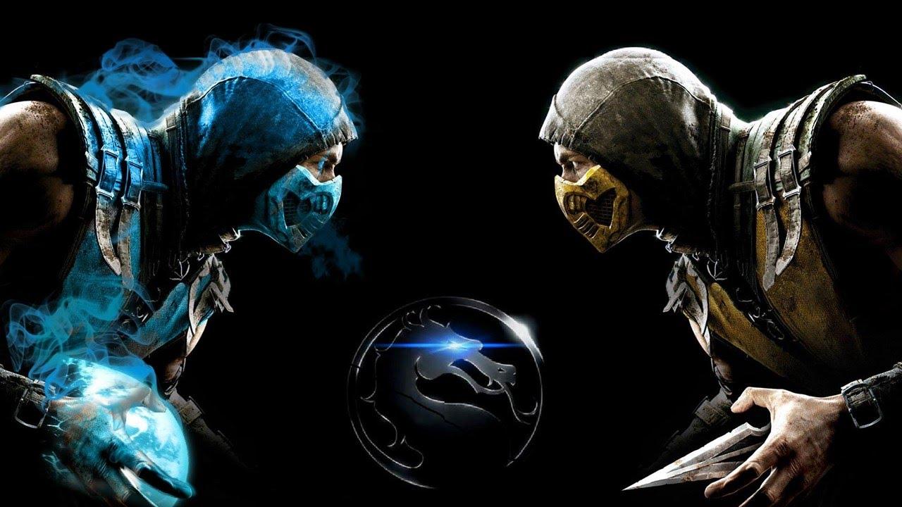 Blue Steel Sub Zero Vs Gold Scorpion MKX