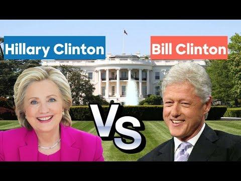 Hillary Clinton vs Bill Clinton | Election Matchup