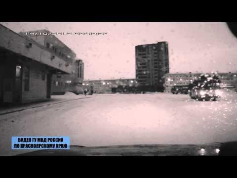 Задержание угонщиков в Норильске