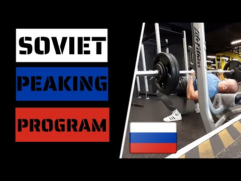 6 Week Soviet Peaking Powerlifting Program Review