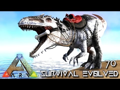 ARK: SURVIVAL EVOLVED - ALPHA GIGANOTOSAURUS TAME GIGA !!! E70 (MODDED ARK EXTINCTION CORE)