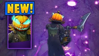*NEW* Hollowhead Pumpkin Skin + Carver Pickaxe! (Fortnite)