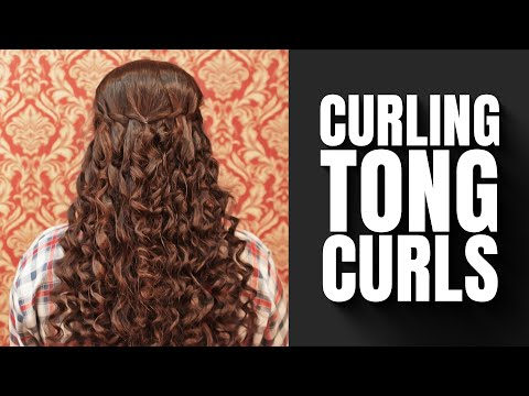 Tong Curls Tutorial | Latest Hairstyle trends thumbnail