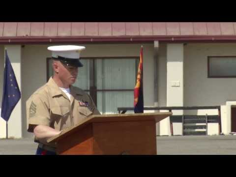Navy Cross Ceremony: Sgt. Matthew Abbate