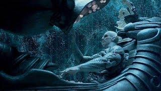 """Инженер пытается взлететь на корабле - """"Прометей"""" отрывок из фильма"""
