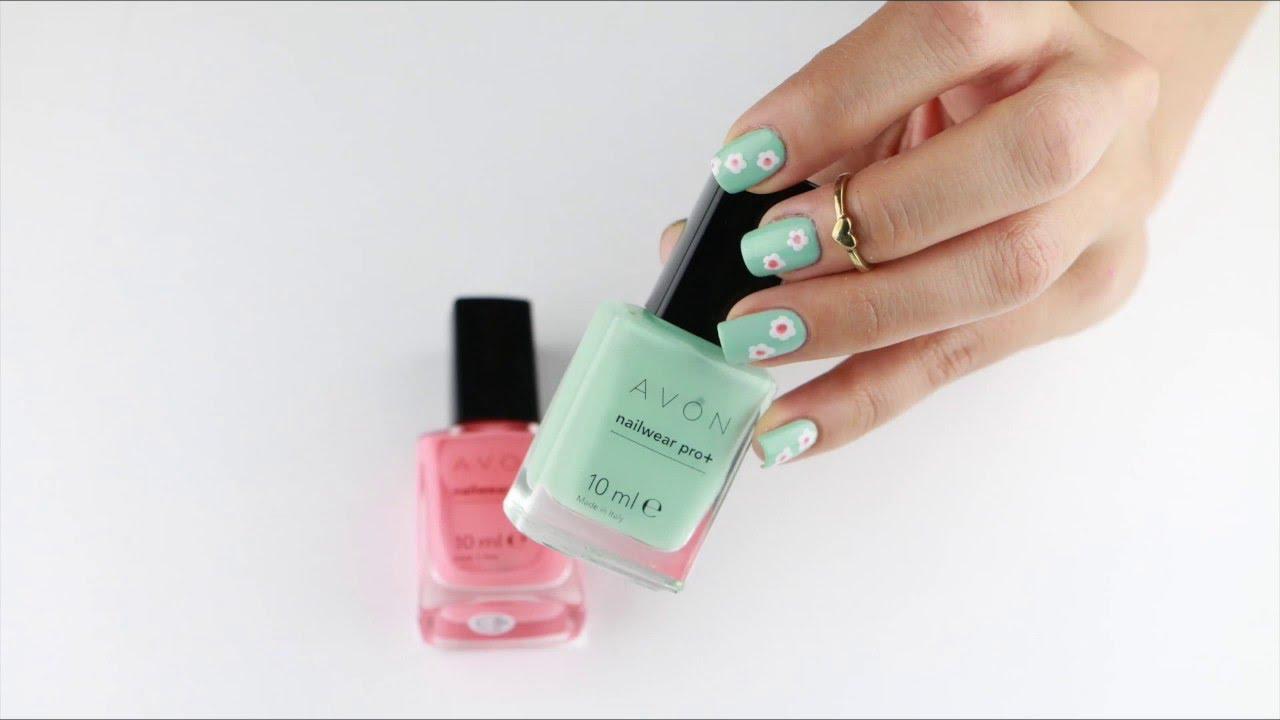 Spring Daisies Nail Art | Ojemrujumrimelim
