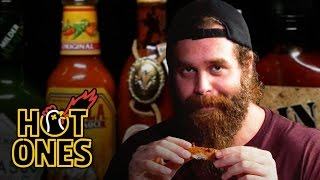 Harley Morenstein Has His Worst Day of 2016 Eating Spicy Wings | Hot Ones thumbnail