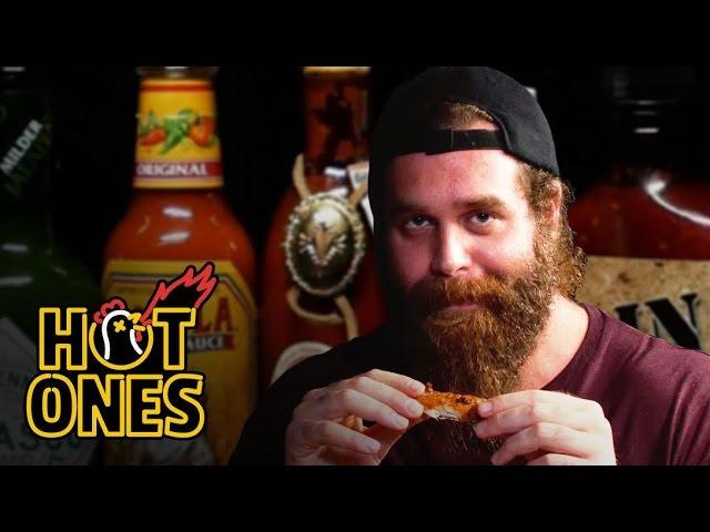 Harley Morenstein Has His Worst Day of 2016 Eating Spicy Wings   Hot Ones