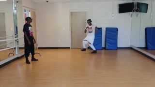 """Marquez Sims and Ja'quan Green """"Hookah"""" Dance Freestyle 