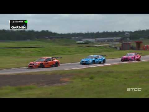 STCC Heat 2 2016 Anderstorp, Sweden. Scandinavian Touring Car Championship