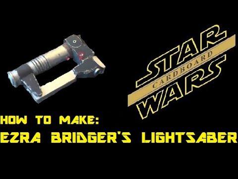 How To Make Ezra Bridger's lightsaber