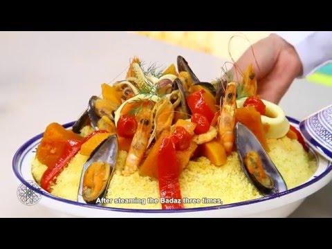 choumicha-:-couscous-de-maïs-(baddaz)-aux-fruits-de-mer-|-seafood-couscous
