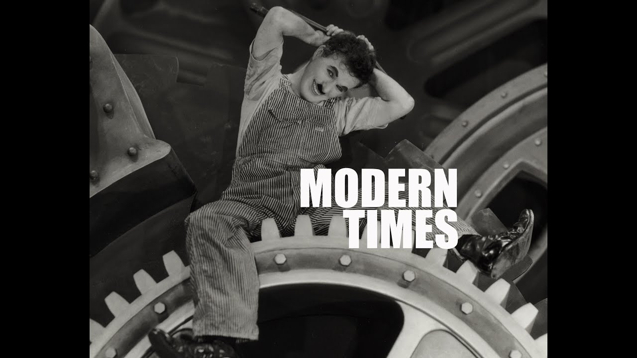 Image of the 1936 Chaplin's movie Modern times