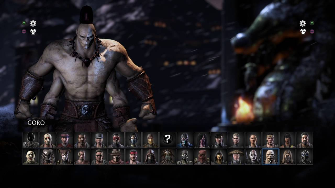 Mortal Kombat Xl All Character Select Screen Intros Youtube
