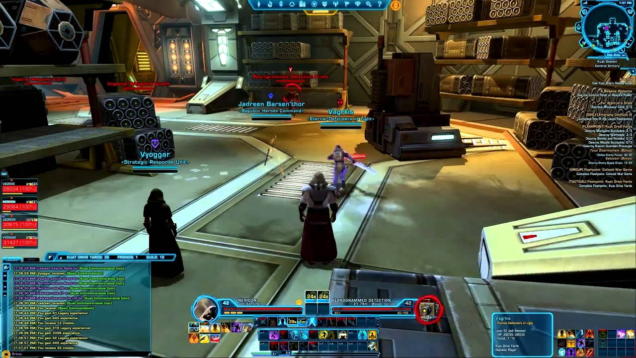 Star Wars: The Old Republic Kuat Drive Yards Tactical ...