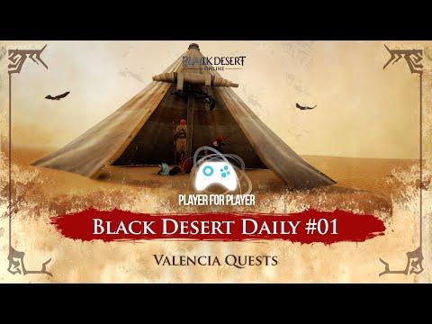Black Desert Daily #01 - Iniciando conteúdo Valencia - Quests