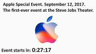 Apple Keynote September 2017 Apple Watch and iPhone 8 And iPhone X