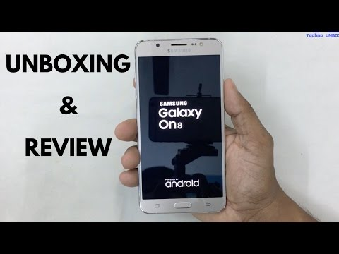 Samsung Galaxy On8 Unboxing & Review!
