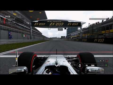 F1 2017 - F1 Esports Series Online Qualifier Race (China 25%)