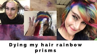 Dying my hair rainbow prisms