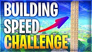 BUILDING SPEED CHALLENGE / DEFI 🔨 FORTNITE