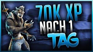✅🐺 70.000 EXP NACH EINEM TAG | Fortnite Battle Royale