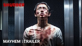 MAYHEM - Official Trailer [HD] | A Shudder Exclusive | Starring Steven Yeun