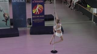 Силко Анна 14 лет - Catwalk Dance Fest VIIl [pole dance, aerial] 16.04.17.