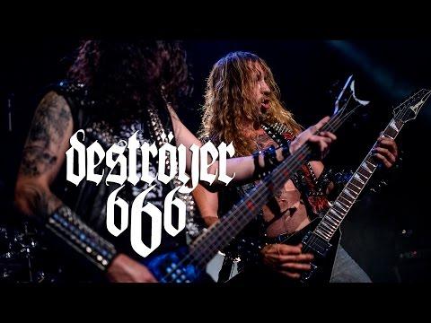 Deströyer 666 - Lone Wolf Winter (live Lyon - 17/10/2015)