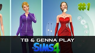 TB & Genna Play The Sims 4 - Part 1(We decided to play The Sims 4 on stream last night. It was the worst/best decision ever as you can see! Part 1 : https://www.youtube.com/watch?v=GLfBODs-t04 ..., 2014-09-03T14:13:13.000Z)