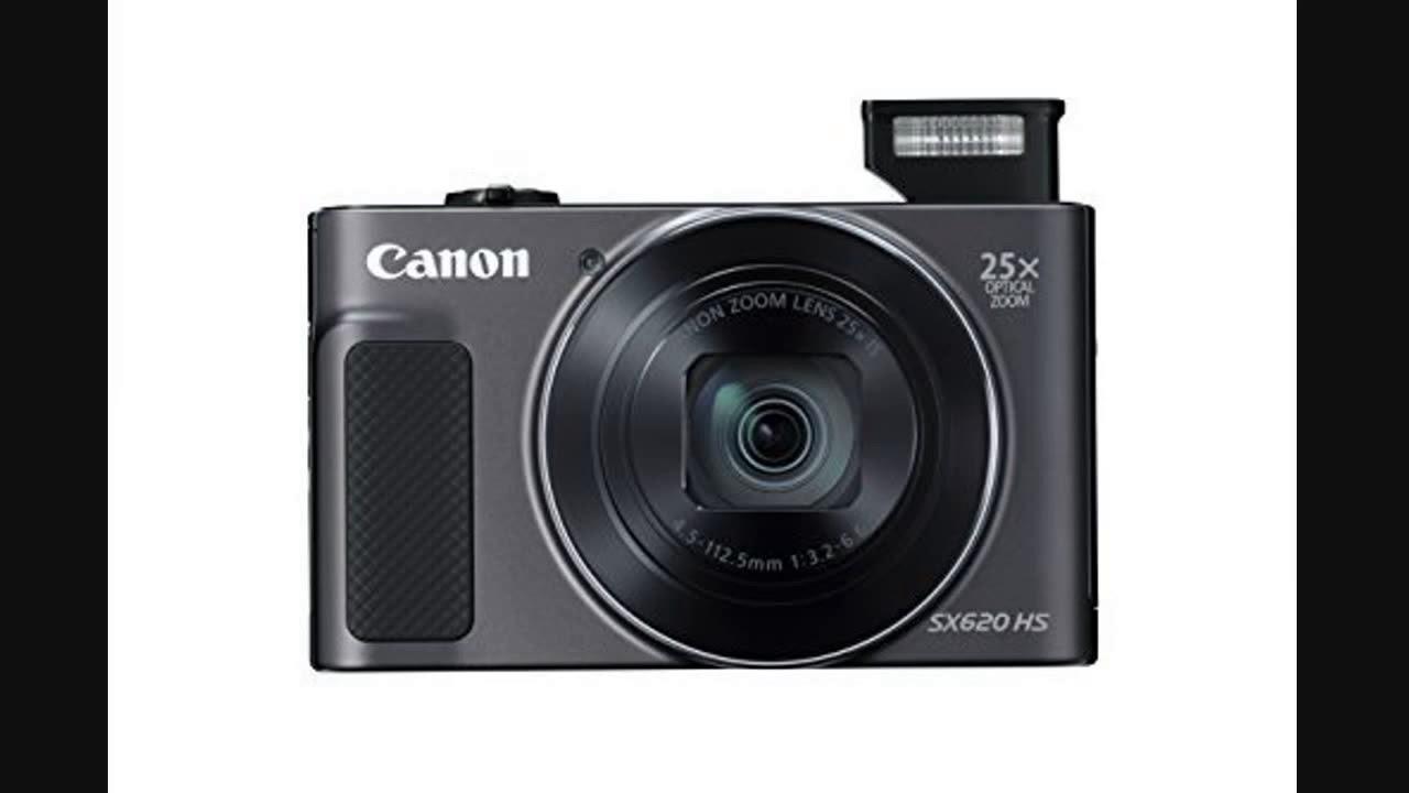 Canon PowerShot SX620 HS ホワイトを開封 - YouTube