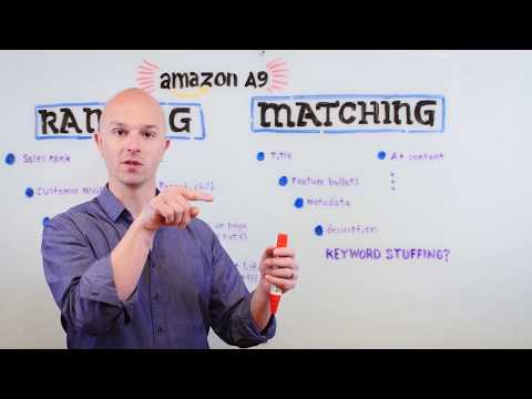 Understanding Amazon's A9 Algorithm  - At the whiteboard