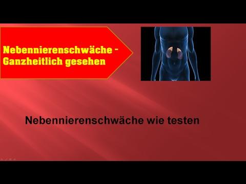 nebennierenschw�che - test - ganzheitlich - ganzmedizin