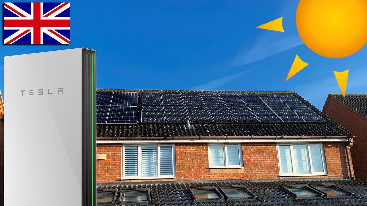 Solar and Tesla Powerwall 2 performance April 2020 in the UK