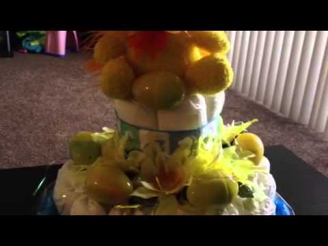 Diaper cakes by DEBS DESIGNS