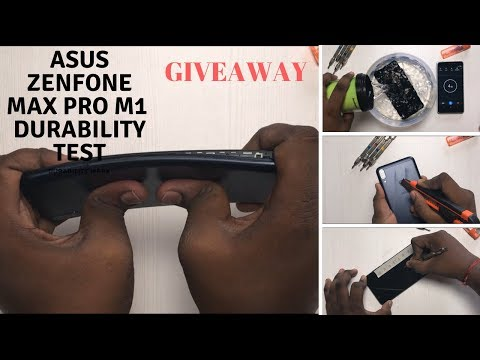 Asus Zenfone Max Pro M1-Durability Test,Flame&Water Test, Drop Test,Scratch test[GIVEAWAY]